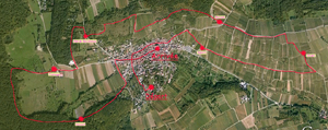 Parcours jusqu'en 2011 - Cliquer pour agrandir la carte